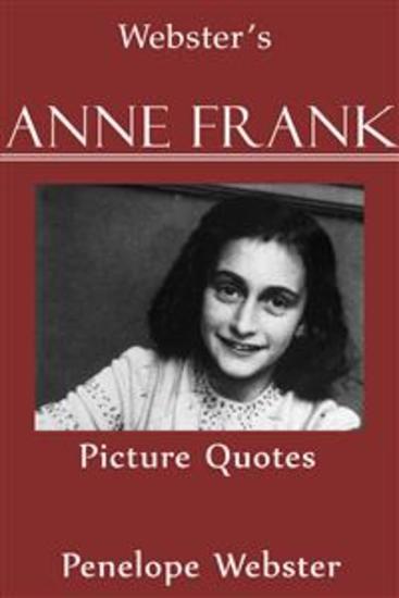 Webster's Anne Frank Picture Quotes - cover