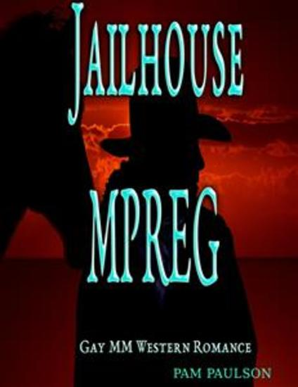 Jailhouse MPREG - Gay Western Romance - cover