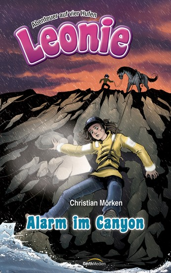 Leonie: Alarm im Canyon - Abenteuer auf vier Hufen - cover