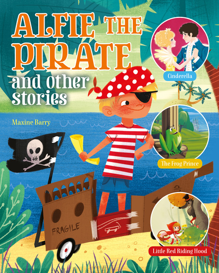Alfie the Pirate and Other Stories - cover