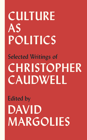 Culture as Politics - Selected Writings - cover