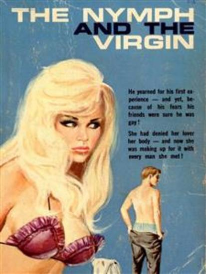 The Nymph And The Virgin (Vintage Erotic Novel) - cover