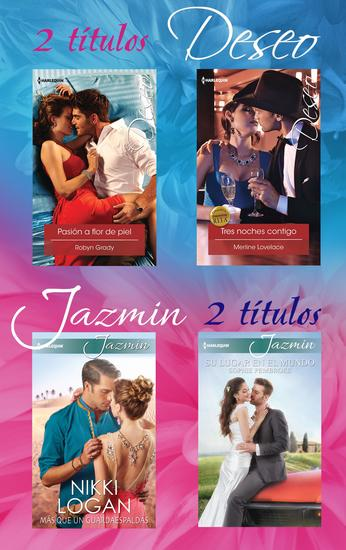 Pack Deseo y Jazmín abril 2016 - cover