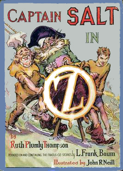 The Illustrated Captain Salt in Oz - cover
