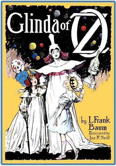 The Illustrated Glinda of Oz - cover