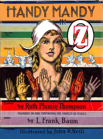 The Illustrated Handy Mandy in Oz - cover