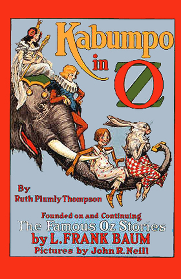 The Illustrated Kabumpo in Oz - cover