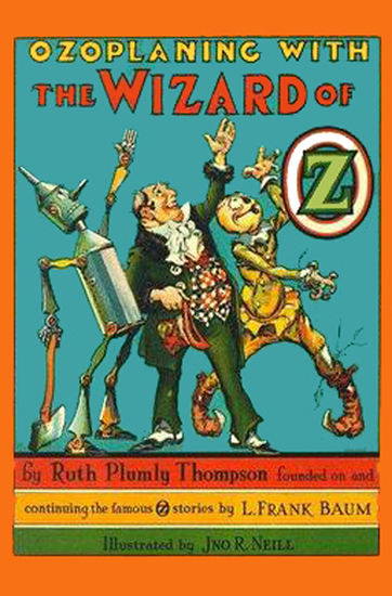 The Illustrated Ozoplaning With The Wizard of Oz - cover