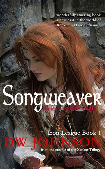 Songweaver - Iron League Book 1 - cover