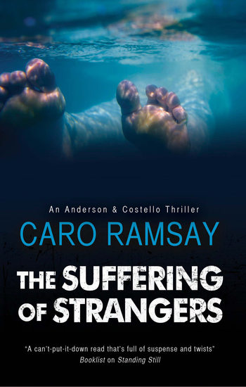 The Suffering of Strangers - A Scottish police procedural - cover