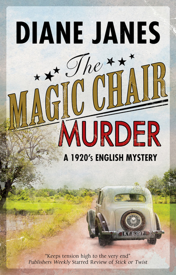 The Magic Chair Murder - A 1920s English mystery - cover