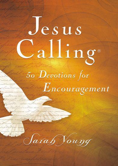 Jesus Calling 50 Devotions for Encouragement - cover