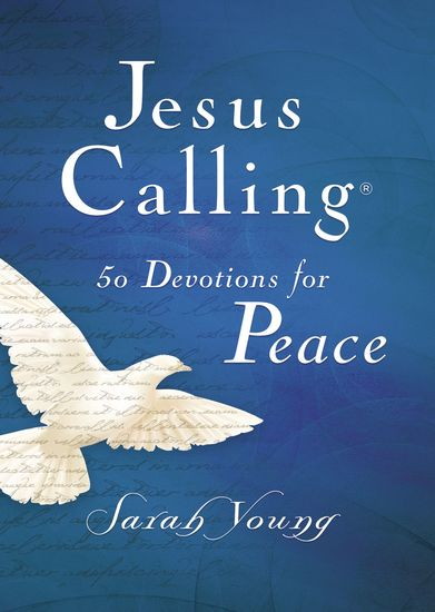 Jesus Calling 50 Devotions for Peace - cover