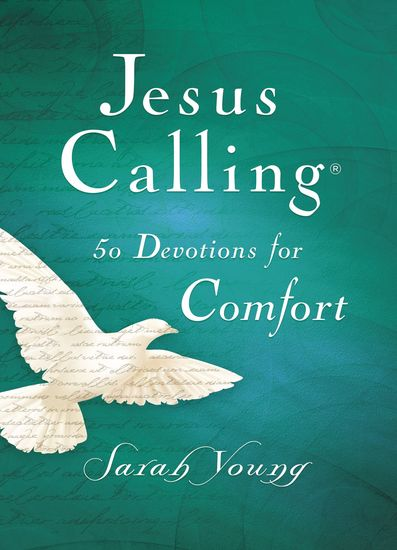 Jesus Calling 50 Devotions for Comfort - cover