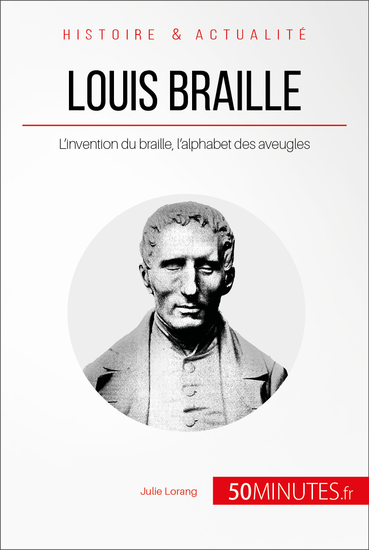 Louis Braille - L'invention du braille l'alphabet des aveugles - cover