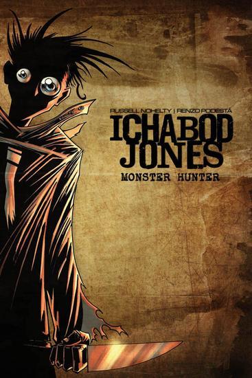 Ichabod Jones: Monster Hunter - cover