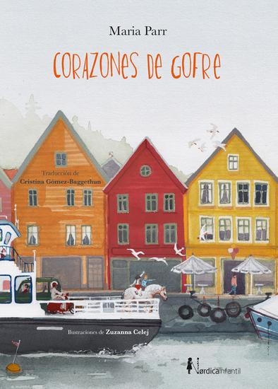 Corazones de gofre - cover