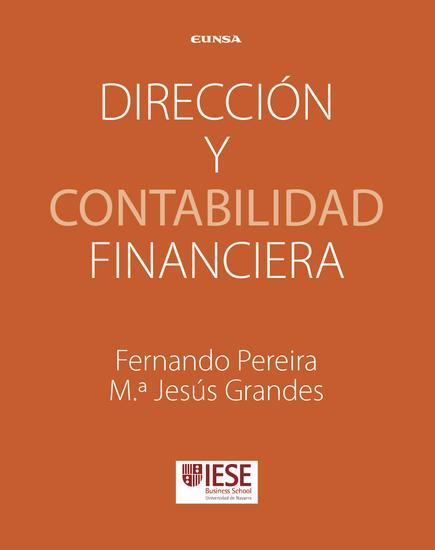 Dirección y contabilidad financiera - Manuales IESE - cover