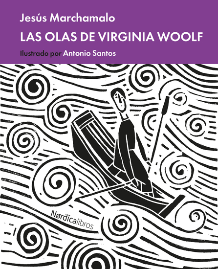 Virginia Woolf las olas - cover