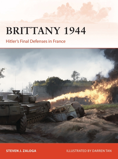Brittany 1944 - Hitler's Final Defenses in France - cover