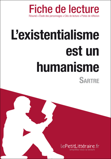 existencialism is humanism In ethics: existentialismone work, a pamphlet entitled existentialism is a humanism (1946), sartre backed away from so radical a subjectivism by suggesting a version of kant's idea that moral judgments be applied universally.