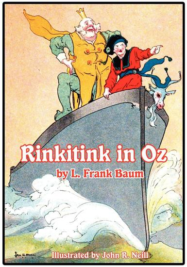 The Illustrated Rinkitink in Oz - cover