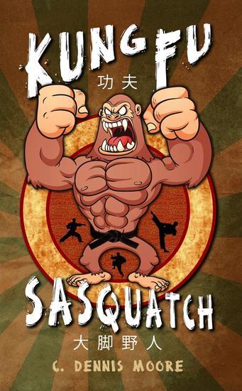 Kung Fu Sasquatch - cover