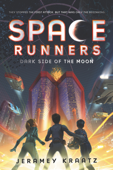Space Runners #2: Dark Side of the Moon - cover