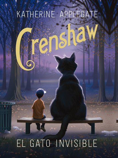 Crenshaw El gato invisible - cover
