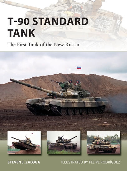 T-90 Standard Tank - The First Tank of the New Russia - cover