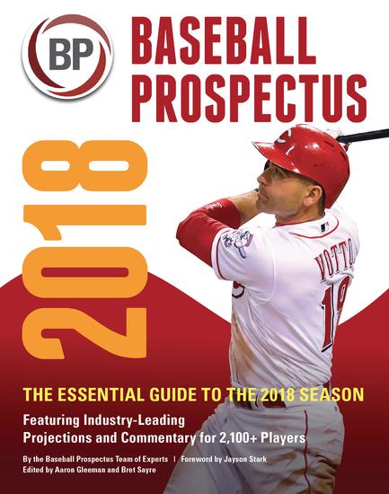 Baseball Prospectus 2018 - cover
