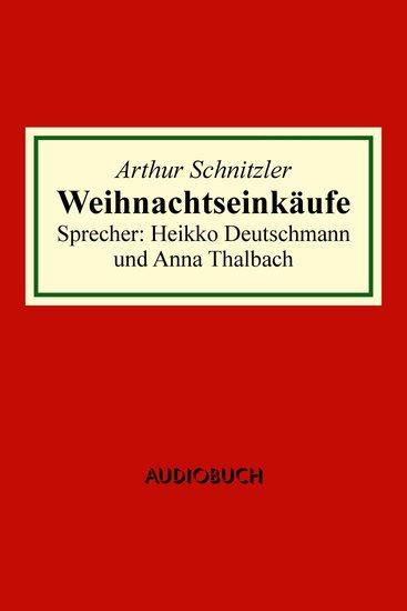 Weihnachtseinkäufe - cover