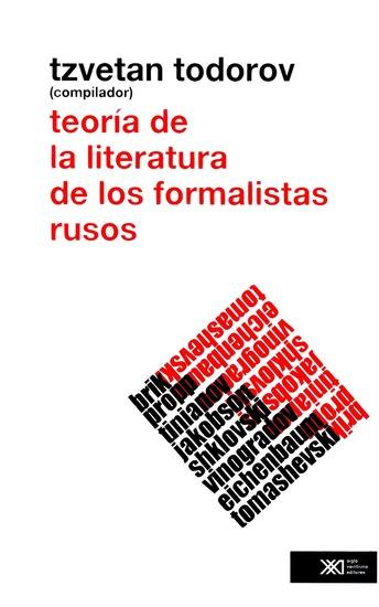 Teoría de la literatura de los formalistas rusos - cover