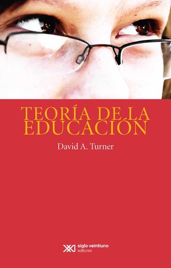 Teoría de la educación - cover