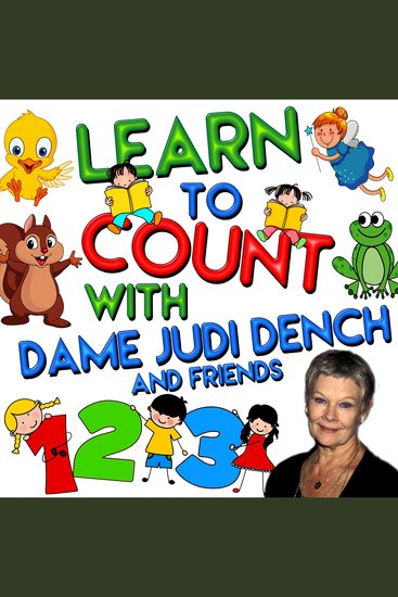 Learn to Count with Dame Judi Dench - cover