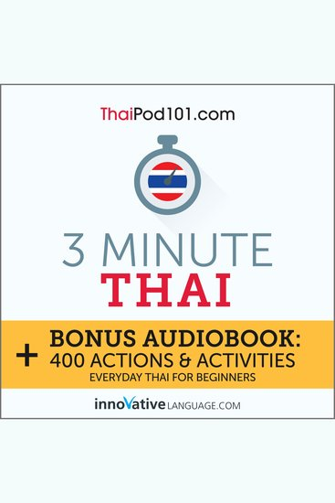 3-Minute Thai - Everyday Thai for Beginners - cover