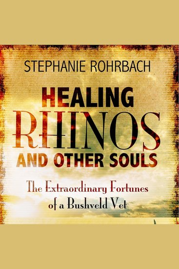 Healing Rhinos and Other Souls - The Extraordinary Fortunes of a Bushveld Vet - cover