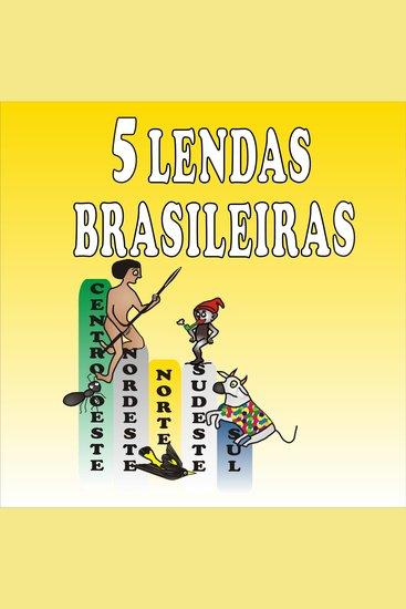 5 Lendas Brasileiras - cover