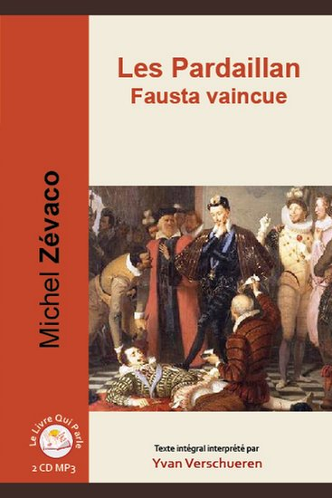 Pardaillan Livre 4 - Fausta vaincue Les - Livre 4 - Fausta vaincue - cover