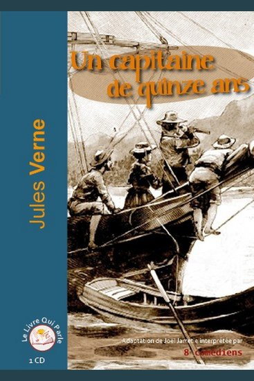 Capitaine de quinze ans Un - cover