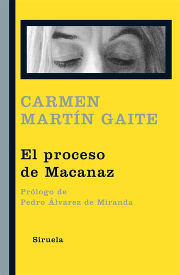 El proceso de Macanaz - Historia de un empapelamiento - cover