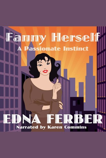 Fanny Herself: A Passionate Instinct - cover