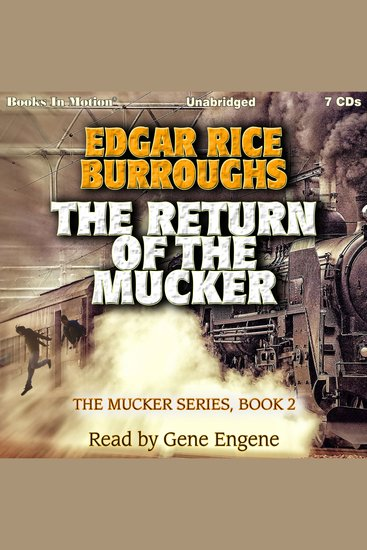 The Return of the Mucker - The Mucker Series Book 2 - cover