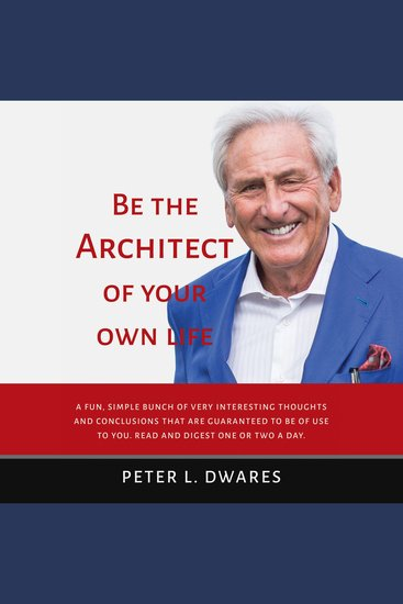 Be the Architect of Your Own Life - cover