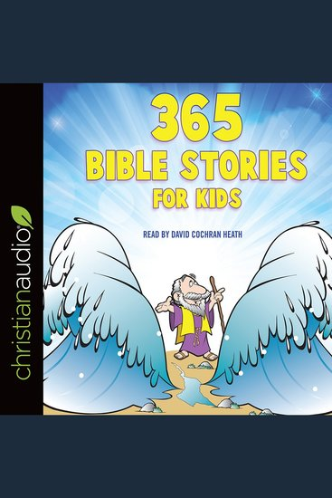 365 Bible Stories for Kids - cover