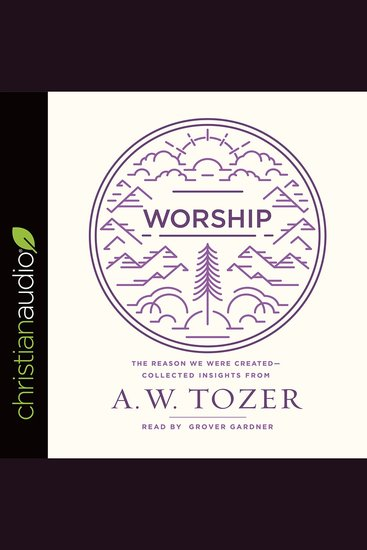 Worship - The Reason We Were Created-Collected Insights from A W Tozer - cover
