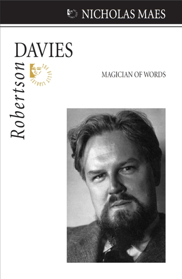 Robertson Davies - Magician of Words - cover
