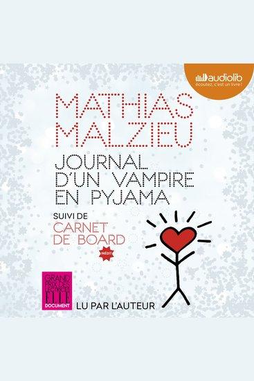 Journal d'un vampire en pyjama - Suivi de Carnet de Board - cover