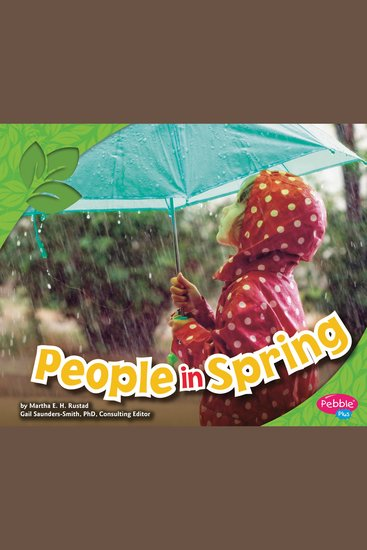 People in Spring - cover