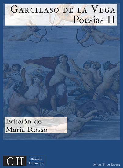 Poesías II - cover